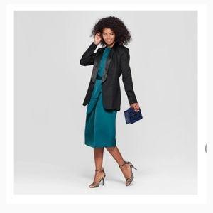 H&M women's black blazer size 2
